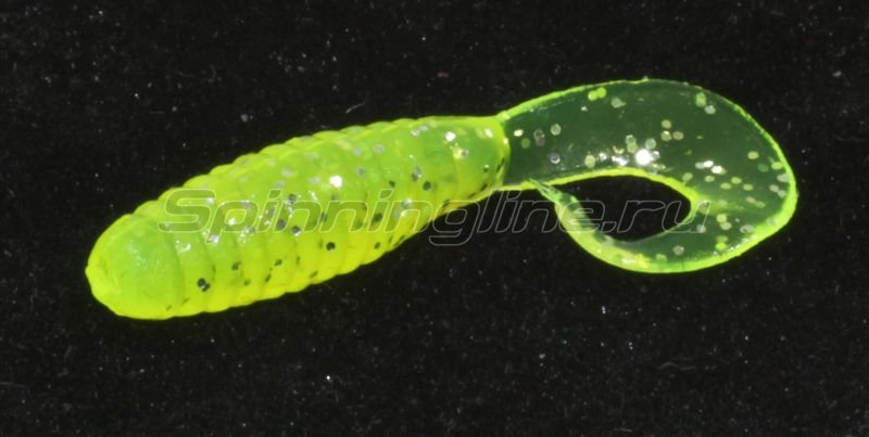 Allvega - Flutter Tail Grub 80chartreuse - ���������� 1