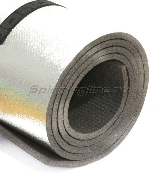 Изолон-Трейд - Коврик туристический Decor Металлик S8 темно-серый - фотография 1