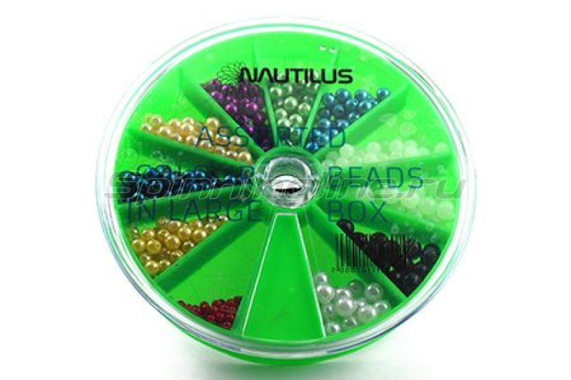 Nautilus - Бусины Assorted Colour Beads in Large Box - фотография 1
