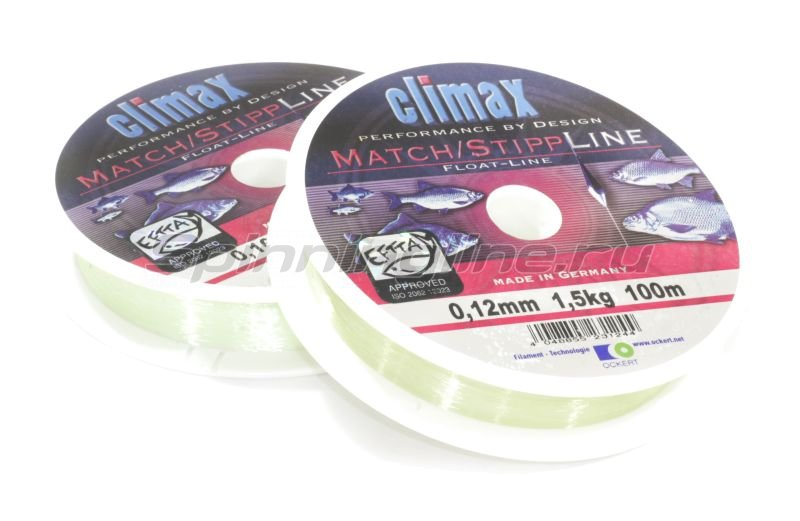 Climax - Леска Match-Stipp Line Mono 100м 0,14мм - фотография 1