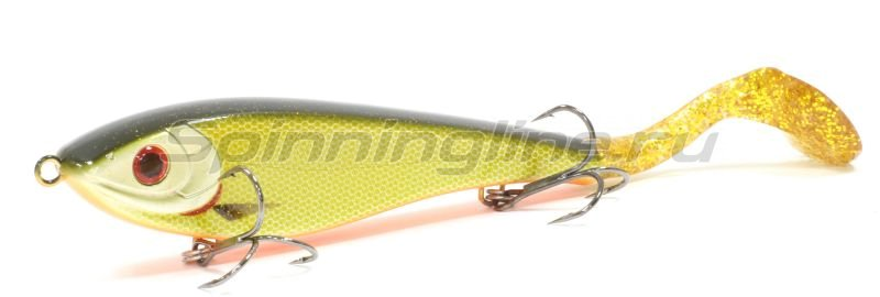 STRIKE PRO - Воблер Bandit Tail EG-138 виброхвост C41 - фотография 1