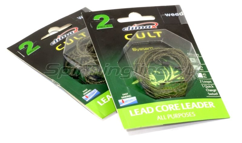 Climax - Lead Core Leader-All Purpose 90см 25lb - фотография 1