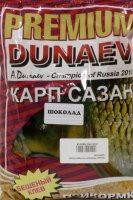 Прикормка Dunaev Premium 1кг Карп-Сазан Шоколад