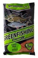 Прикормка Greenfishing Energy Карп red 1кг.