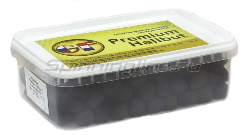 Greenfishing - Пеллетс прикормочный Premium Halibut 20мм 1000мл. - фотография 1