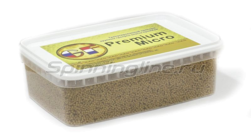 Greenfishing - Пеллетс прикормочный Premium Micro 2мм 1000мл. - фотография 1