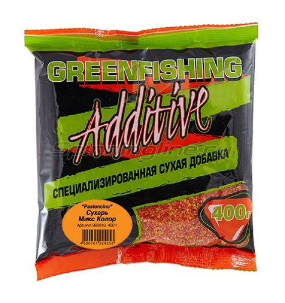 Greenfishing - Сухарь Mix Color Pastoncino 2мл. 400гр - фотография 1