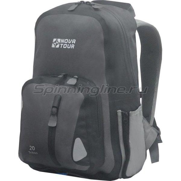 Nova Tour - Рюкзак водонепроницаемый Тритон 20 серый - фотография 1