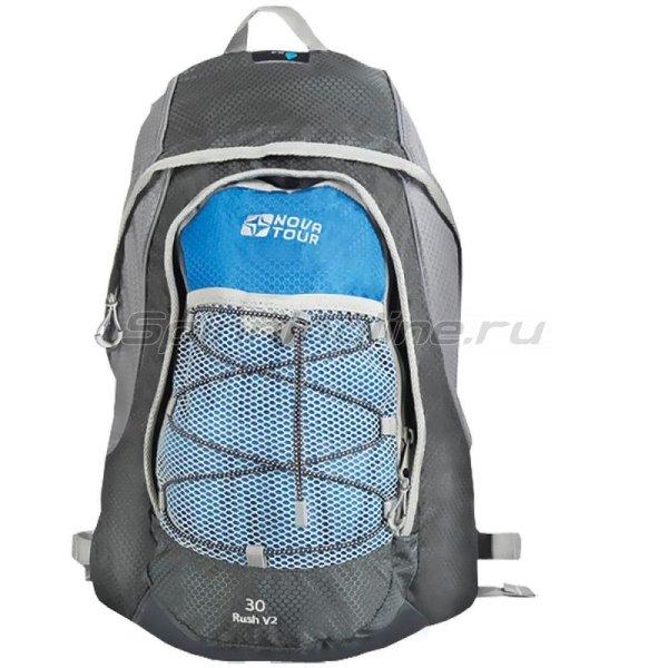 Рюкзак Раш 30 V2 серый/синий -  1