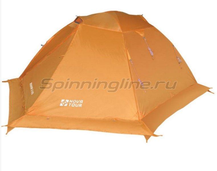 Палатка Памир 3 V2 оранжевый -  1