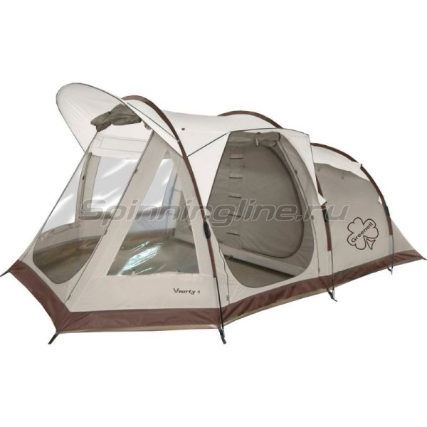 Палатка туристическая Вэрти 4 коричневый -  1