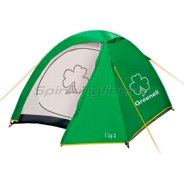 Greenell - Палатка туристическая Эльф 2 V3 зеленый - фотография 1