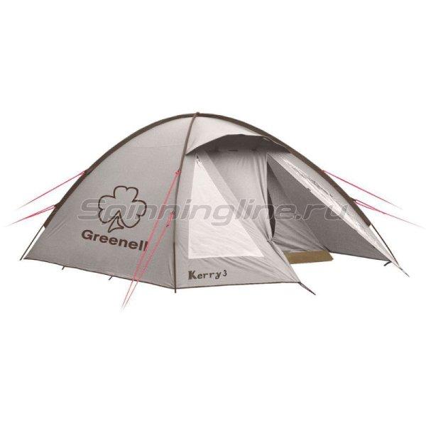 Greenell - Палатка туристическая Керри 3 V3 коричневый - фотография 1