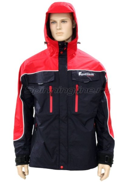 Куртка Fisherman - Nova Tour Коаст Pro M графит -  1