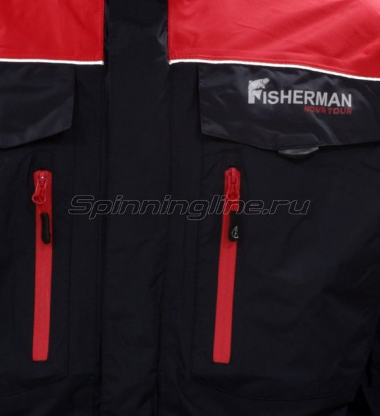 Куртка Fisherman - Nova Tour Коаст Pro XS графит -  3