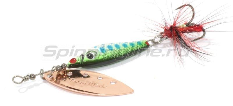 Lucky John - Блесна Trian Blade Long 6гр 5 - фотография 2