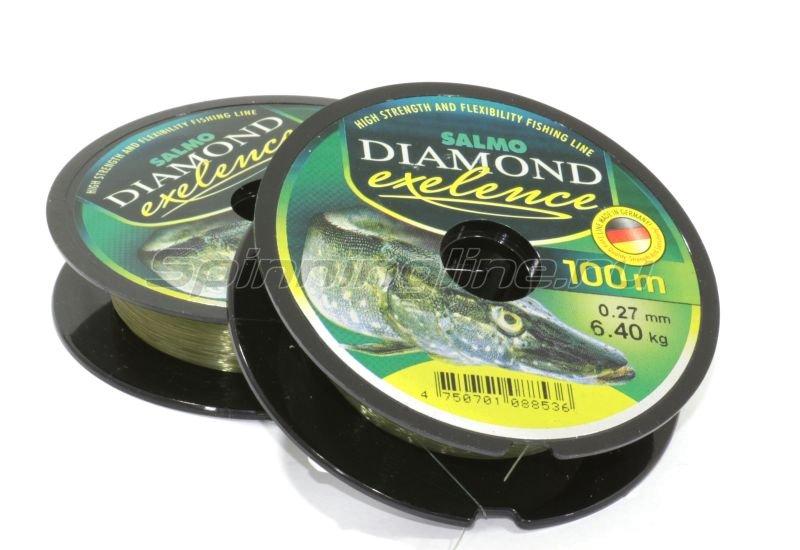 Salmo - Леска Diamond Exelence 100м 0,22мм - фотография 1