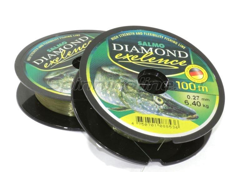 Леска Diamond Exelence 100м 0,27мм -  1