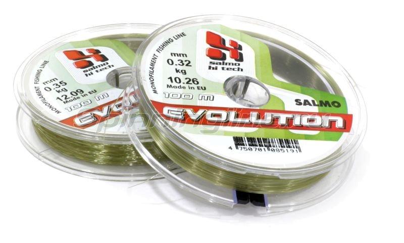 Salmo - Леска Hi-Tech Evolution 100м 0,40мм - фотография 1