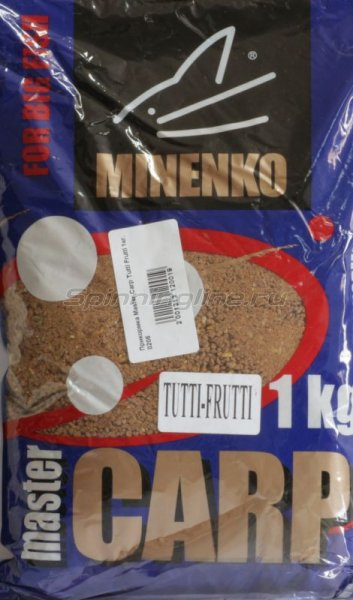 Прикормка Master Carp Tutti Frutti 1кг. -  1