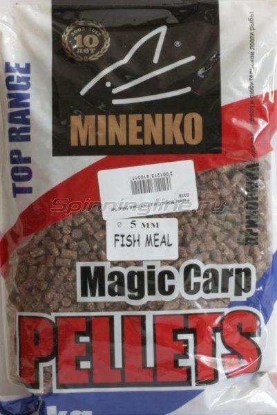 Пеллетс прикормочный Pellets Magic Carp Fish meal 5мм. -  1