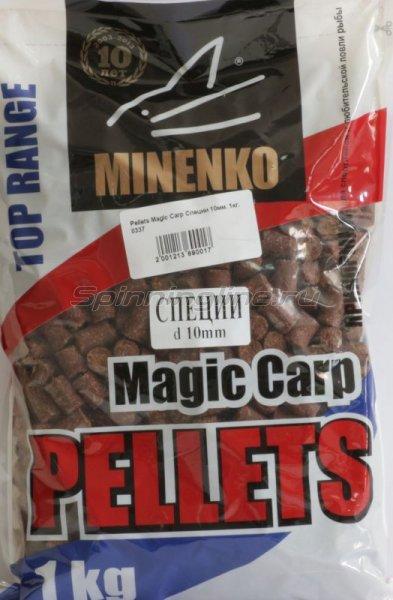 Minenko - Пеллетс прикормочный Pellets Magic Carp Специи 5мм. - фотография 1