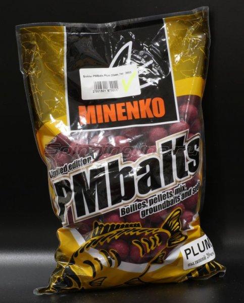 Minenko - Бойлы PMBaits Plum 20мм. - фотография 1