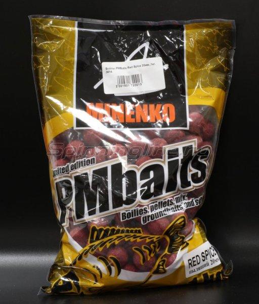 Бойлы PMBaits Red Spice 26мм. -  1