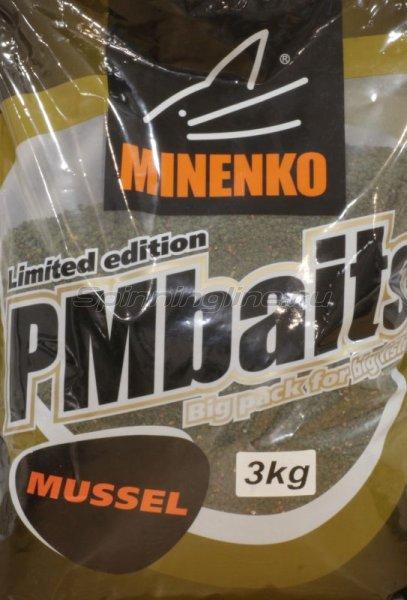 Minenko - Прикормка PMBaits Carp Mussel 3кг. - фотография 1
