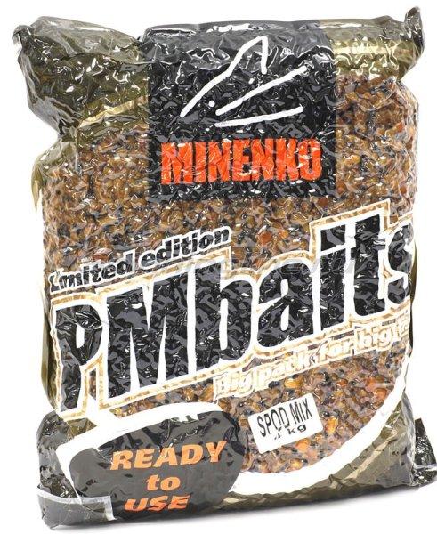 Minenko - Зерновая прикормка PMBaits Ready to use Spod Mix 4кг. - фотография 1