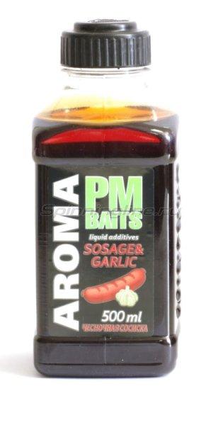 Minenko - Добавка PMBaits Aroma Sosage&Garllic 500мл. - фотография 1