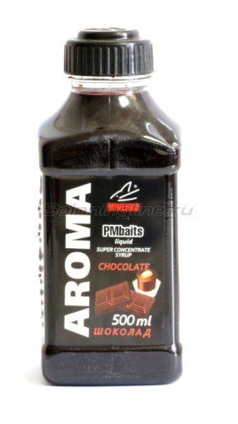 Minenko - Добавка PMBaits Aroma Chocolate 500мл. - фотография 1