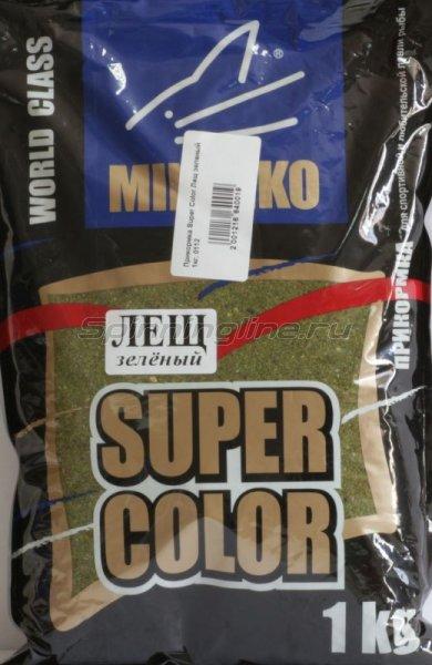 Minenko - Прикормка Super Color Лещ зеленый 1кг. - фотография 1