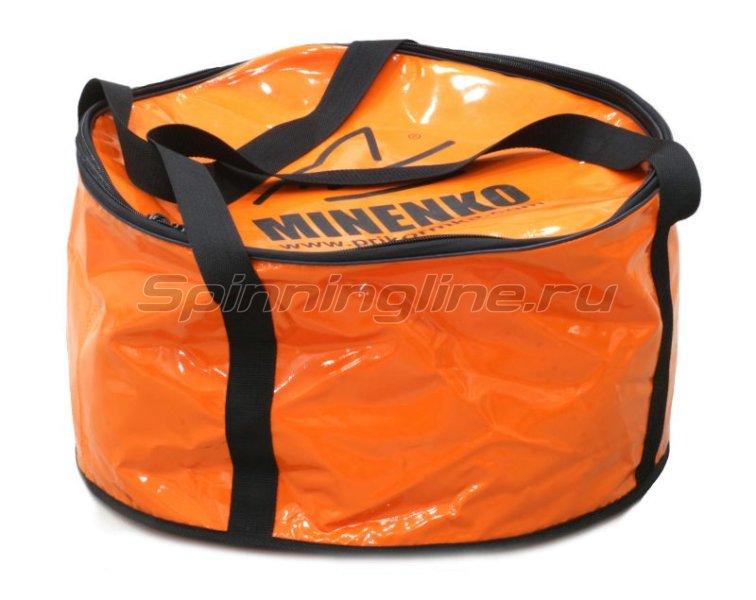 Minenko - Ведро большое мягкое с крышкой - фотография 1