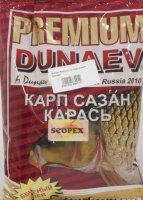 Прикормка Dunaev Premium 1кг Карп-Сазан Скопекс