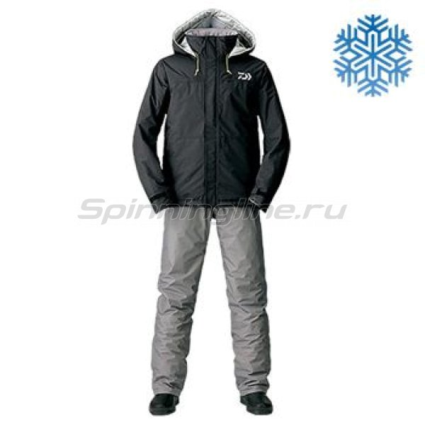 Костюм Daiwa Rainmax Winter Suit Black L - фотография 1