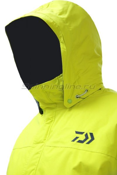 Костюм Daiwa Rainmax Winter Suit Lime Yellow XL - фотография 4