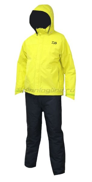 Костюм Daiwa Rainmax Winter Suit Lime Yellow XXL - фотография 1