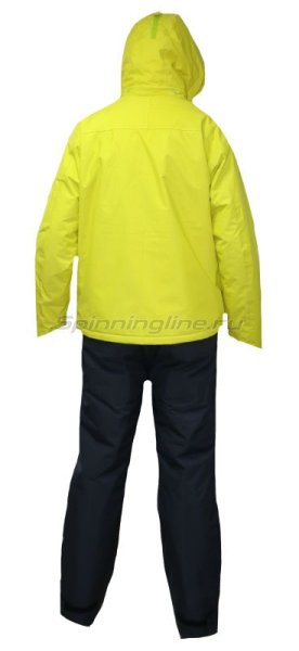 Костюм Daiwa Rainmax Winter Suit Lime Yellow XXL -  2