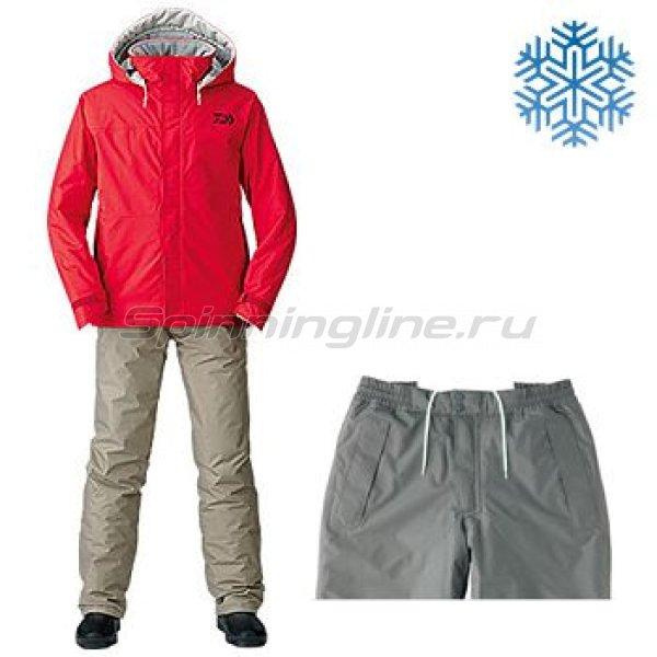 Костюм Daiwa Rainmax Winter Suit Red XXXL - фотография 1