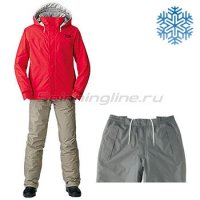 Костюм Daiwa Rainmax Winter Suit Red XXXXL