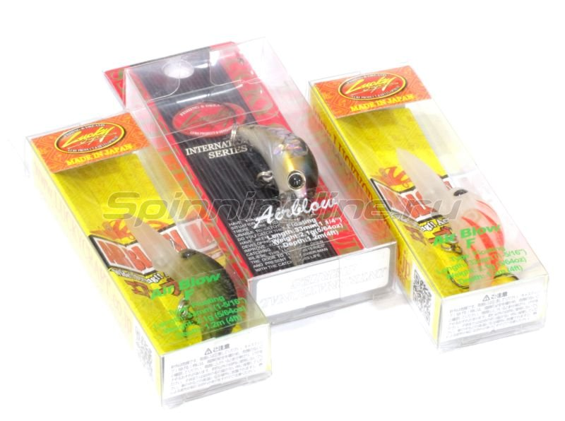 Воблер Air Blow F Aurora Gold Northern Perch 884 -  2