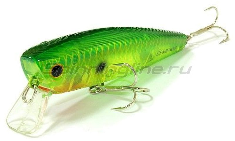 Lucky Craft - Воблер Classical Minnow Ghost Peacock 867 - фотография 1