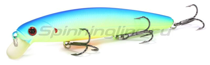 Lucky Craft - Воблер Flash Minnow 110SP Chartreuse Light Blue 287 - фотография 1
