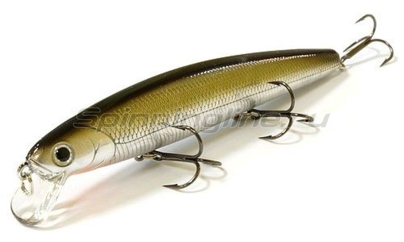 Lucky Craft - ������ Flash Minnow 110SP 5184 Bait Black Silver 023 - ���������� 1