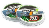 Шнур FWx8 Destiny Green 100м 0,33мм