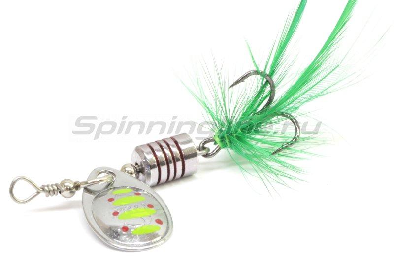 Sprut - Блесна Makuro Spinner 2 STR-GR - фотография 1