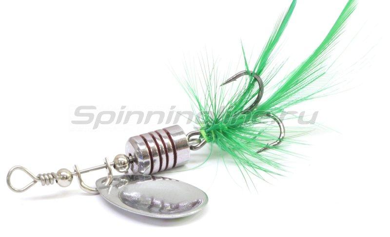 Sprut - Блесна Makuro Spinner 2 STR-GR - фотография 2