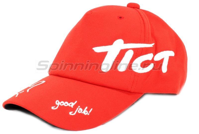 Кепка Tict Good Job красная - фотография 1