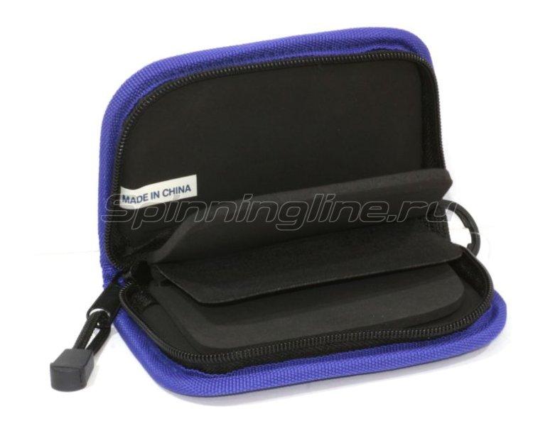 Кошелек для блесен Tsuribito Wallet L blue - фотография 2